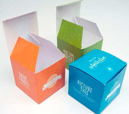 Dominio Gráfico - Cajas personalizadas