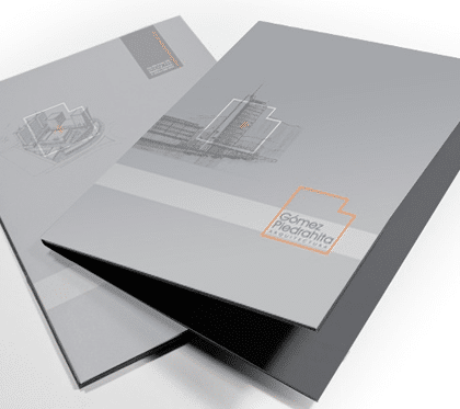Carpetas corporativas Imprenta online Dominio Gráfico
