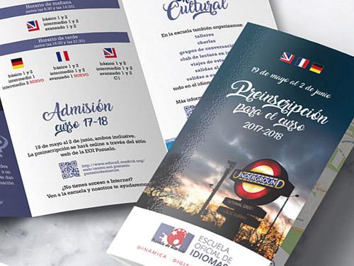 brochure triptico