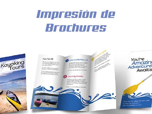 impresion de brochures