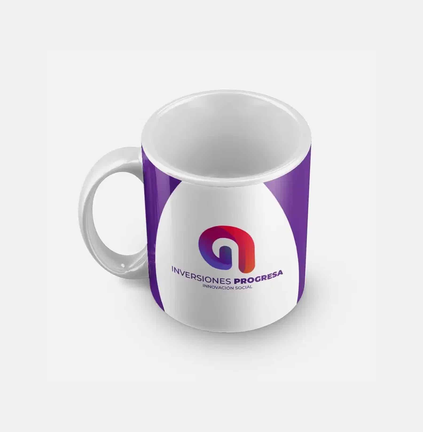 Material pop mugs