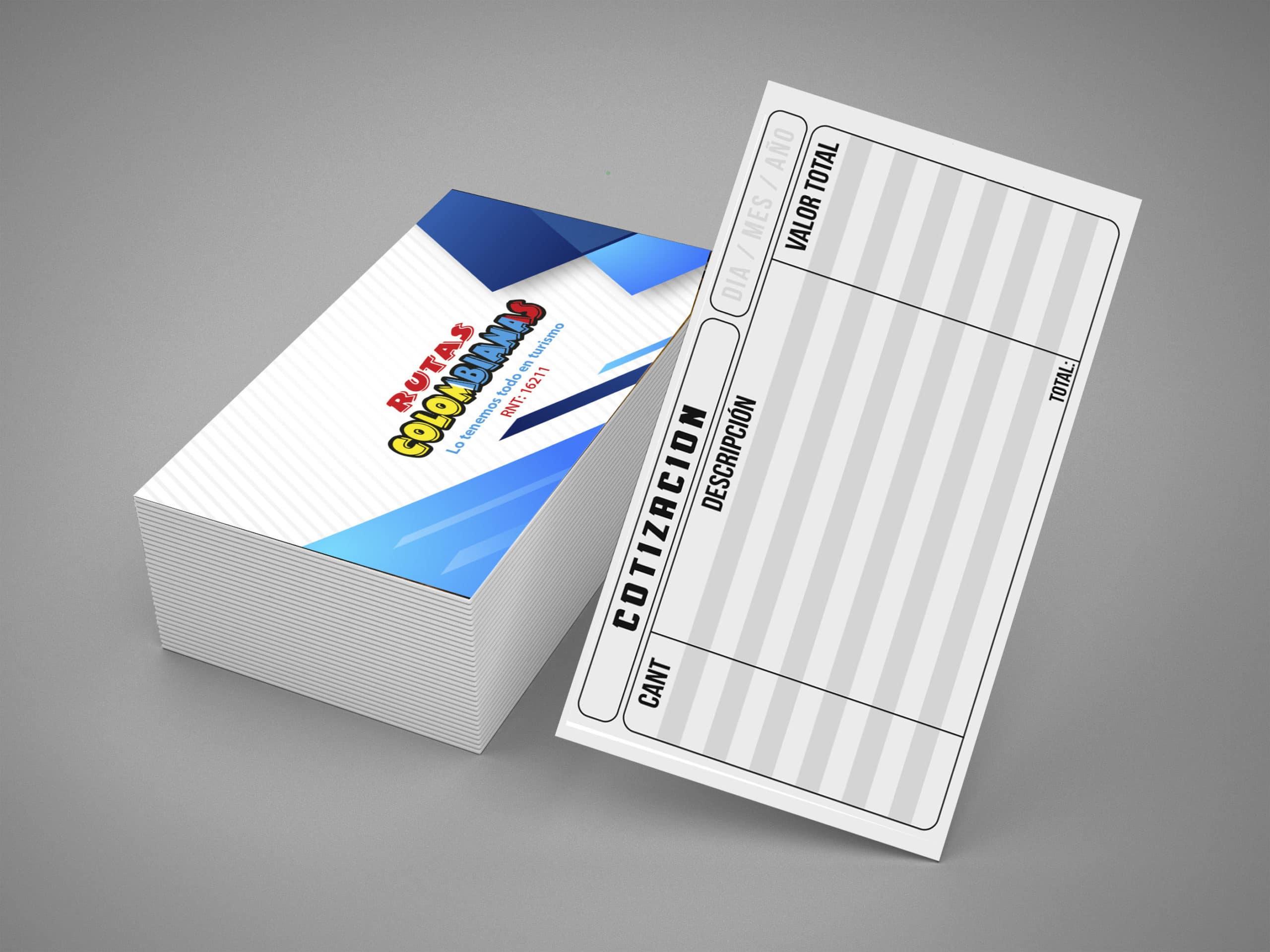tarjeta de presentacion brillante