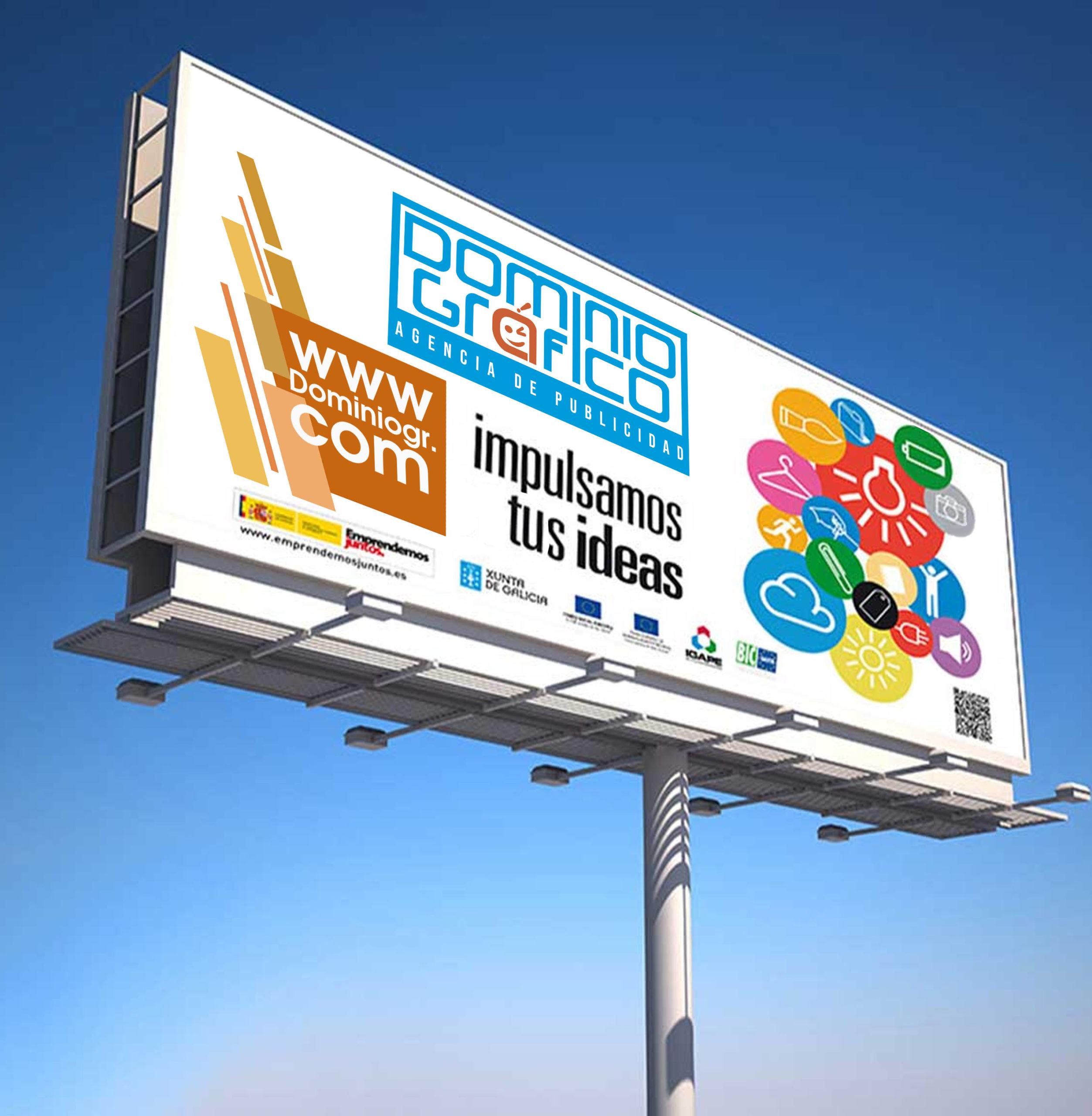 impresión de vallas publicitarias